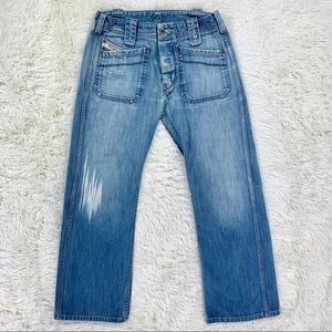 Diesel Industry MOORIX Jeans Relaxed Straight